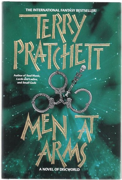 Men At Arms by Terry Pratchett (First Edition)