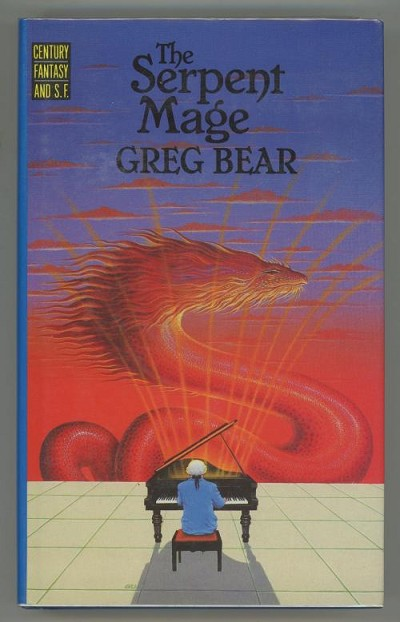 The Serpent Mage by Greg Bear (First Edition)