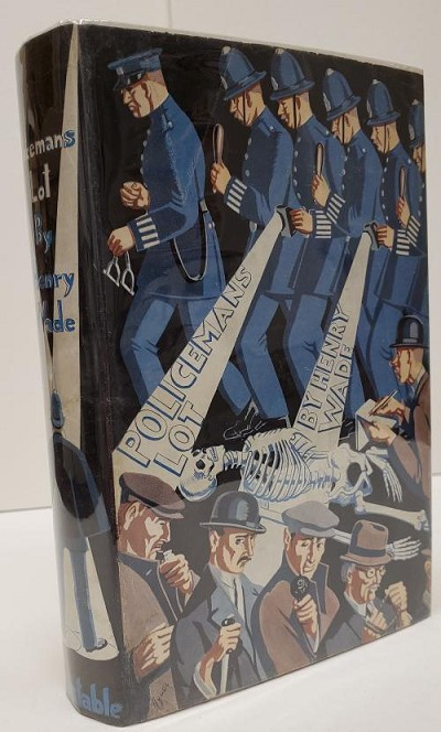 Policeman's Lot by Henry Wade (First Edition)