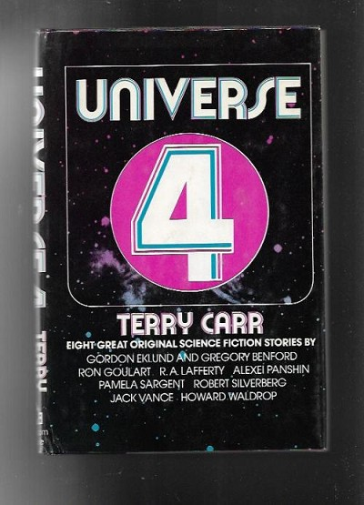 Universe 4 by Terry Carr (Book Club)