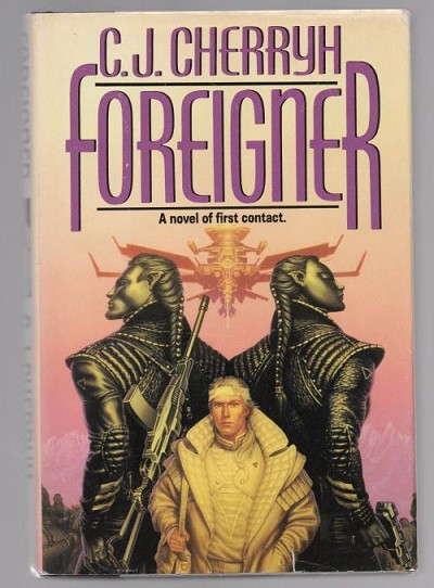 Foreigner by C. J. Cherryh (First Edition)