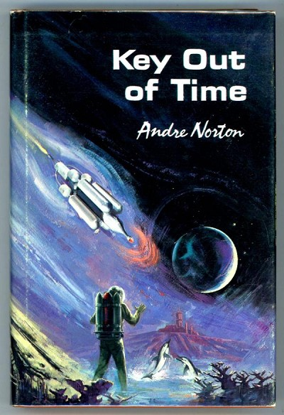 Key Out of Time by Andre Norton REVIEW COPY 1st edition