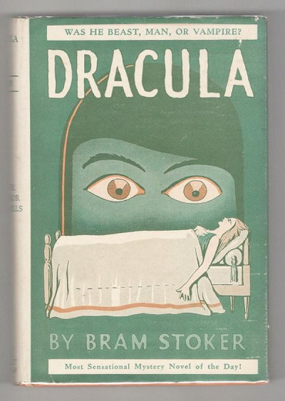 DRACULA by Bram Stoker (Grosset, First Edition Thus) w/Original Dust Jacket