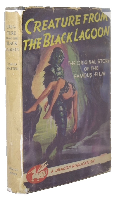 Creature from the Black Lagoon by Vargo Statten (First Edition) Signed Cast Members