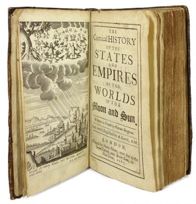 Comical History of the States and Empires.. by Cyrano de Bergerac (First Edition)
