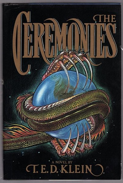 The Ceremonies by T.E.D. Klein (First Edition)