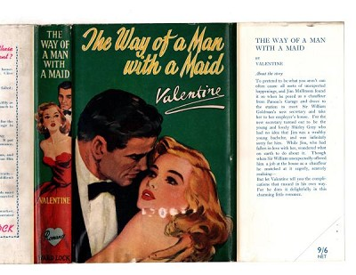 The Way of a Man with a Maid by Valentine (First Edition) Ward Lock File Copy