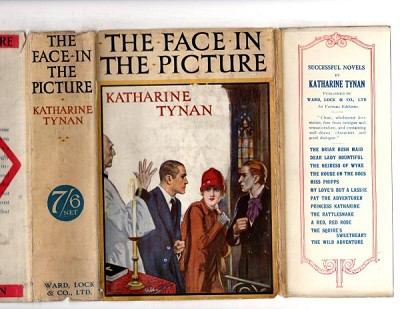 The Face in the Picture by Katharine Tynan (1st Edition) Abbey Cvr, Ward File Copy