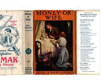 Money or Wife by Effie Adelaide Rowlands (Ward Lock File Copy)