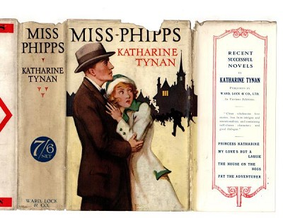 Miss Phipps by Katharine Tynan (First Edition) Ward File Copy