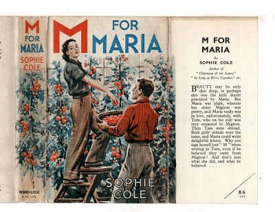 M for Maria by Sophie Cole (First Edition) File Copy