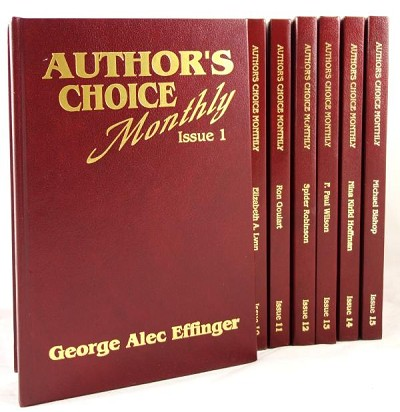 "Author's Choice Monthly (Issues 0-29) Signed, Leather ""STAFF RED"" & ""BLUE DELUXE"""