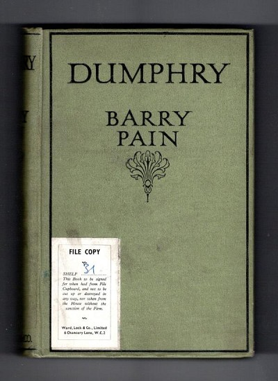 Dumphry by Barry Pain (Ward Lock File Copy)