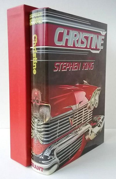 Christine by Stephen King (Limited Edition) Signed