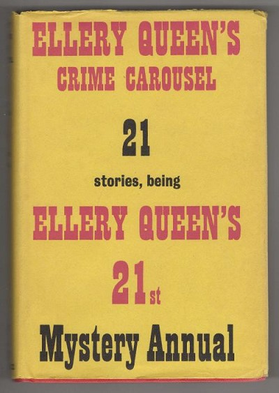 Ellery Queen's Crime Carousel (First UK Edition)