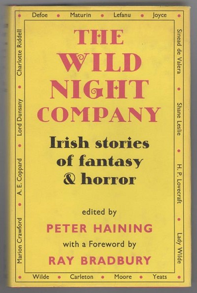 The Wild Night Company: Irish Stories of Fantasy and Horror (First Edition)