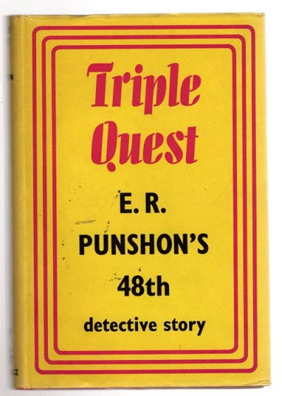 Triple Quest by E. R. Punshon (First UK Edition) File Copy