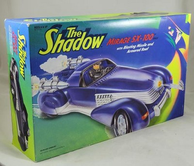 THE SHADOW Mirage SX-100 Vehicle 1994 Kenner w/Box Vintage Rare