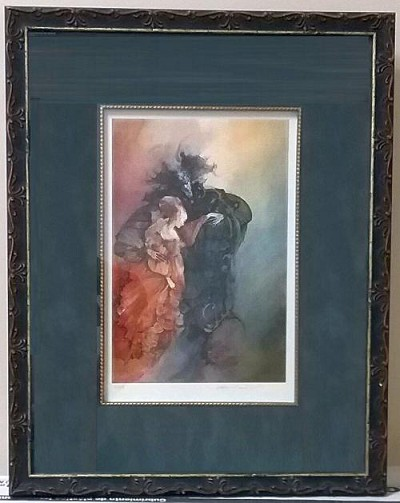 Anne Bachelier ART PRINT Signed Limited Edition VIII/C Beauty and the Beast