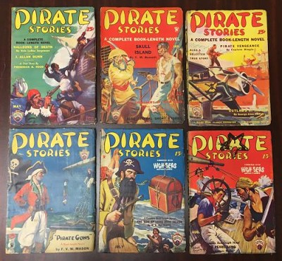 Pirate Stories Complete Set - High Grade