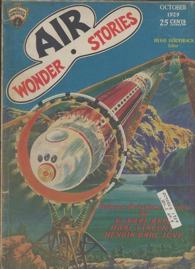 Lot of 2 Air wonder Stories 1929