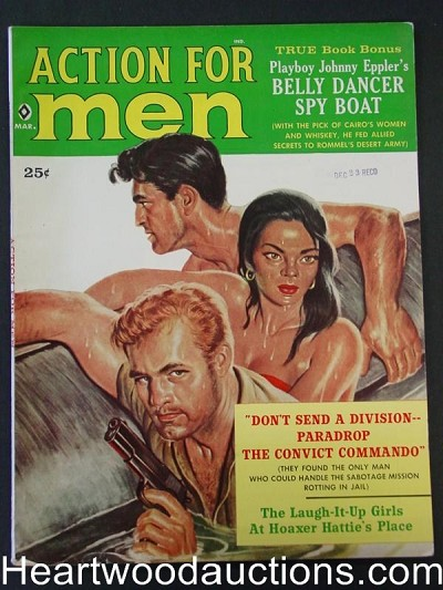 """Action for Men"" March 1960"