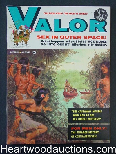 """Valor"" October 1959 Ultra  Howell Dodd"