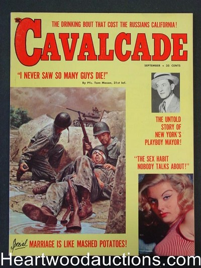 """Cavelcade"" September 1960 Ultra  Horse Racing"