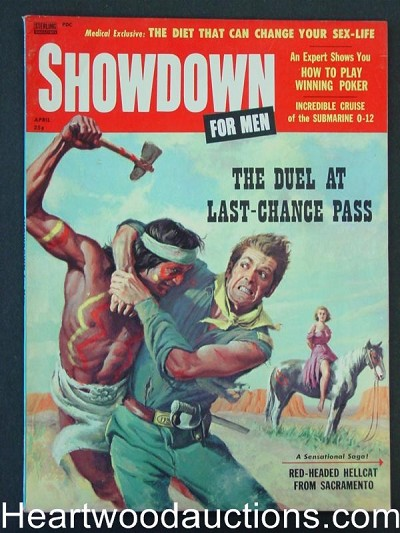 """Showdown"" April 1958 Ultra  Bondage"