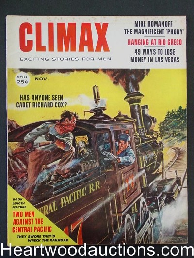 """Climax"" November 1958  Bunny Yeager"