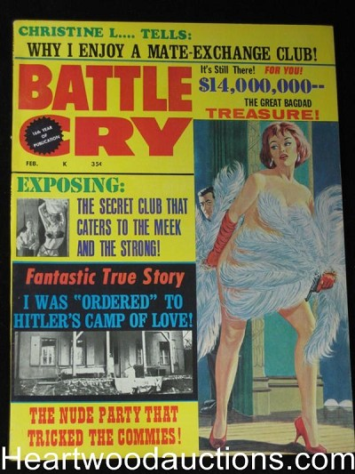 """Battle Cry"" February 1967  Good Girl Art"