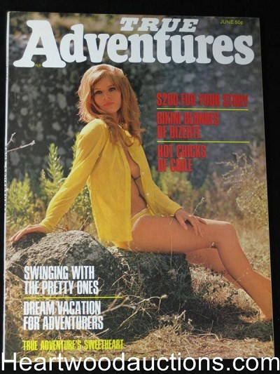 """True Adventures"" June 1970 NEAR MINT"