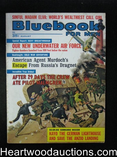 Blue Book Aug 1963 George Gross Cover