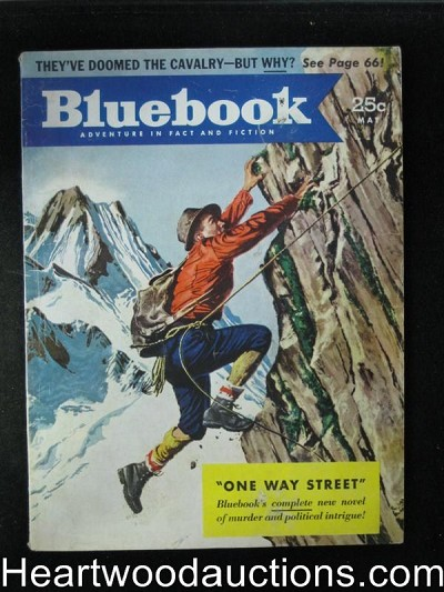 Blue Book May 1952 Nelson Bond,Donald Barr Chidsey