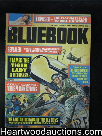 Blue Book Jun 1967 Sin Slave Internationale