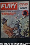 Fury Apr 1959 Tom Beecham Cvr, Ed McBain, Brigitte Baum - Ultra High Grade- NAPA