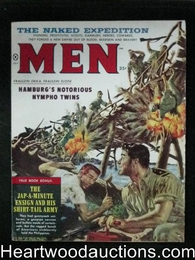 Men Jul 1959 James Bama Cover