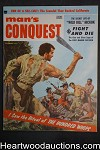 Man's Conquest Sep 1957 Walter Popp, Julie Newmar, Wild Bill Hickok Nona Van Tosh - High Grade- NAPA
