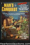 Man's Conquest Jul 1959 June Wilkinson, Walter Popp; , Jack London - Ultra High Grade- NAPA