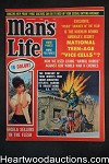 Man's Life Nov 1963 Juvenile Delinquent story, Full Color Centerfold - Ultra High Grade- NAPA
