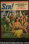 Sir! Apr 1961 Vic Olson Cvr, Vampire story, Weightlifting, Torchy Blaine - Ultra High Grade- NAPA