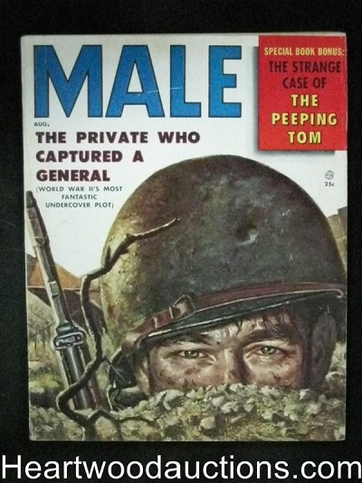 Male Aug 1956 George Gross Cover, Kunstler, Pollen, Schulz