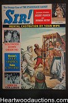 Sir! Jul 1962 Iris Bristol, Victor Olsen, Lawrence of Arabia Cvr - High Grade- NAPA
