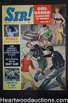 Sir! Mar 1962 JD Girl Gangs Cvr, Wendy Smith, Debbie Jones, spy Oreste Pinto - High Grade- NAPA