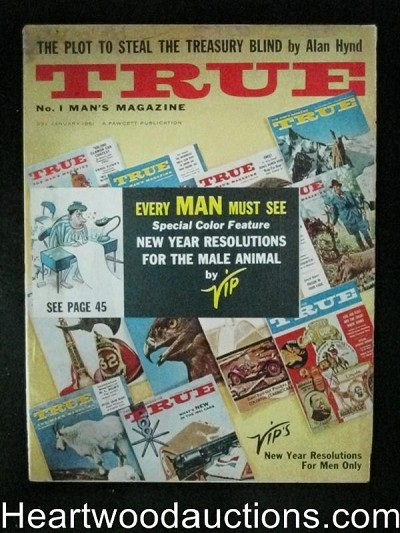 True. Jan 1961 Tom Lovell, Mort Kunstler