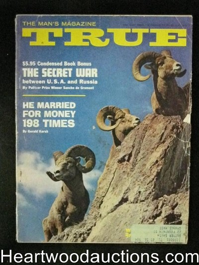 True. May 1962 Sanche de Gramont, Louis Glanzman, Golf, Mafia trap