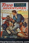 True Adventures Oct 1958 Walter Popp, Norman Mailer, Madeline Castle - High Grade- NAPA