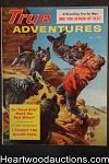 True Adventures Jan 1958 Tom Beechem Wolf attack Cvr, Mott, Rossi, Nona Van Tosh - Ultra High Grade- NAPA