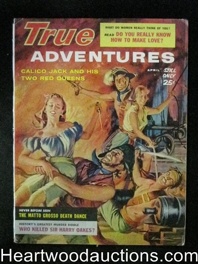 True Adventures Apr 1960 Pirate Queen Assaults
