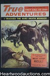 True Adventures Jul 1956 Jay Weaver, Al Rossi, Marla Long - Ultra High Grade- NAPA